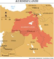 syrian kurds carve out an enclave between the assad regime and