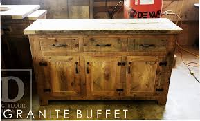 Solid Oak Buffet by Reclaimed Wood Buffet In London Ontario Blog