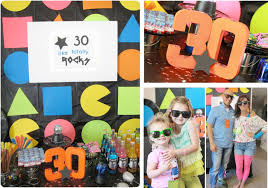 Neon Themed Decorations 80s Theme Party Decorations Party Themes Inspiration