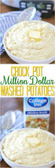 crock pot million dollar mashed potatoes with collegeinnbroth