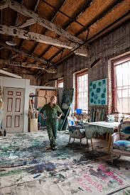 inside kiki slaughter s studio in atlanta ga how to decorate ballard designs exclusive artist kiki slaughter