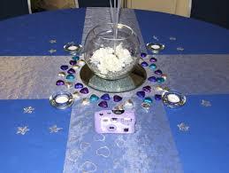 25th wedding anniversary table decor ideas photograph