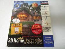 planix home design 3d software planix home design suite 3d by softdesk complete ebay