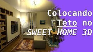 tutorial colocar teto no sweet home 3d forma simples youtube