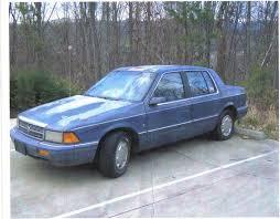 Dodge Spirit Plymouth Acclaim Chrysler Bluestar92 1992 Dodge Spirit Specs Photos Modification Info At