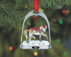 bayberry and roses stirrup ornament