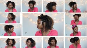 3c hair styles 15 back to school natural hairstyles college high school 3a 3b