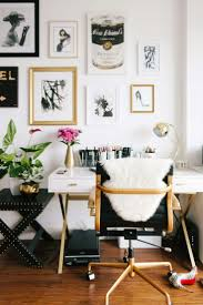 modern office decor this tiny san francisco apartment is our bachelorette dream white