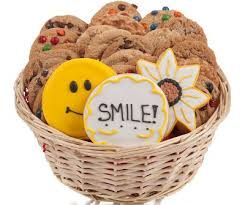 cookie gift smile cookie gift basket