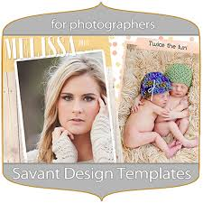 free birth announcement template for designers and photographers