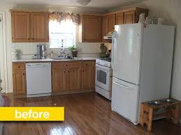 kitchen cabinet upgrade kitchen before after a custom cabinet upgrade for 250 custom