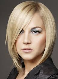 hairstyles short on an angle towards face and back short and medium length hairstyles for angular thin face