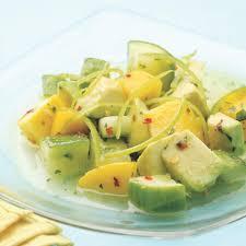 tropical cucumber salad recipe eatingwell