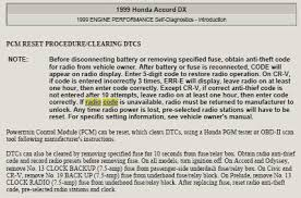 radio code honda civic i bought a used 2007 honda civic lxs and changed the fixya