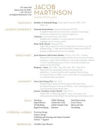 Best Designed Resumes Industrial Design Resume Resume Example