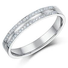 double gold rings images White gold diamond rings and wedding bands 18ct and 9ct white jpg