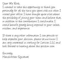 ideas of thank you letter after job offer decline with additional