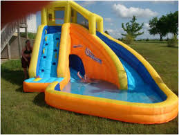 backyard water slide backyard waterslide cool awesome pools with