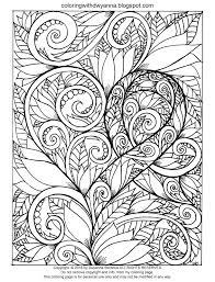 coloring with dwyanna awareness ribbon