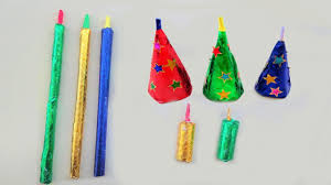 paper craft how to make crackers for diwali step by step very