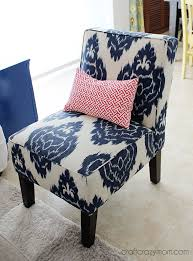 Ikat Armchair Colorful And Modern Family Room