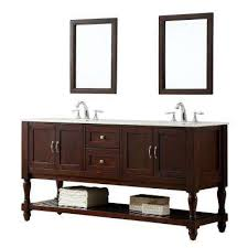 Dual Vanity Sink 62 70 In Double Sink Vanities With Tops Bathroom Vanities