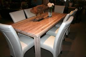 White Washed Kitchen Table by White Wash Rustic Teak Rectangular Dining Table In Destin Foley