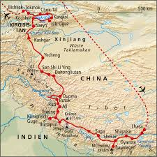 Karakorum On Map Asien Rundreise Reisen U0026 Expeditionen Mit Rotel