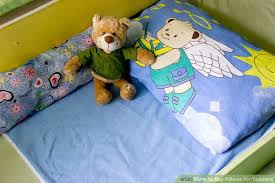 When Can A Baby Have A Pillow And Duvet How To Buy Pillows For Toddlers 5 Steps With Pictures Wikihow