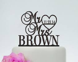 customized cake toppers wedding cake toppers etsy