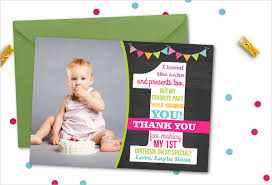 birthday thank you card 30 thank you card designs and exles