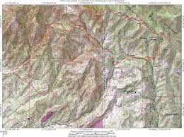 Red River Gorge Map Whiting Ranch And The Santiago Truck Trail