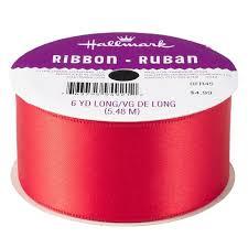 maroon ribbon scarlet 1 5 satin ribbon bows ribbons hallmark