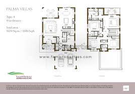 4 bed floor plans floor plans arabian ranches 2 dubai land by emaar