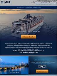 msc cruises this is just not any cruise milled