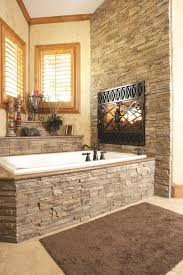 Bathroom With Stone Bathrooms Decorated With Stone Ideas For A Charming Ambiance