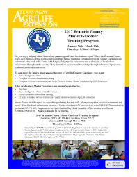 how can i become a master gardener brazoria county master gardeners