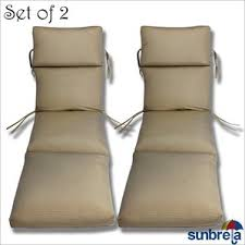 Sunbrella Chaise Cushions Clearance Sunbrella Patio Cushions You U0027ll Love Wayfair