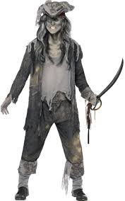 ghostly halloween costumes ghost pirate costume for men