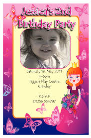 Princess Themed Invitation Card Striking Disney Princess Birthday Party Invitations Birthday Party