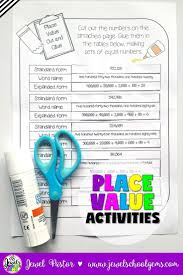 Place Values Worksheet Best 25 Place Value Worksheets Ideas Only On Pinterest Math
