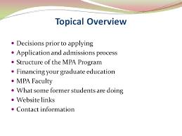 robert j thompson phd associate professor and director mpa
