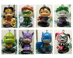dc comics characters ornaments decor