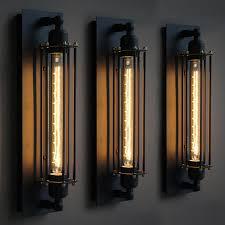 country style outdoor lighting industrial wind american village retro loft creative iron bedroom