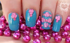 nail art flower designs simple flower nail art face makeup ideas