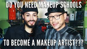 make up schools should i go to makeup school to become a makeup artist