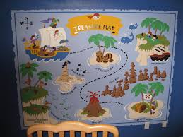 pirates petes treasure map wall mural elephants on the wall customer photos and alternate images large pirate pete s treasure map wall mural