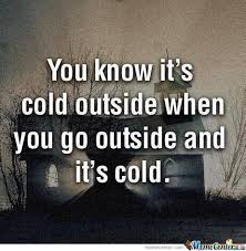 Cold Outside Meme - you know it s cold outside by recyclebin meme center