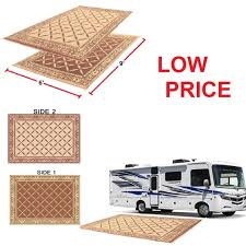 Camping Patio Mats by Best Rv Camping Patio Mat Reversible Indoor Outdoor Deck Rug Pad