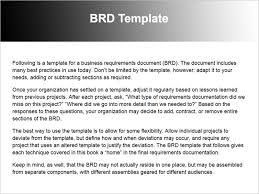 35 brd template requirements traceability matrix creating process